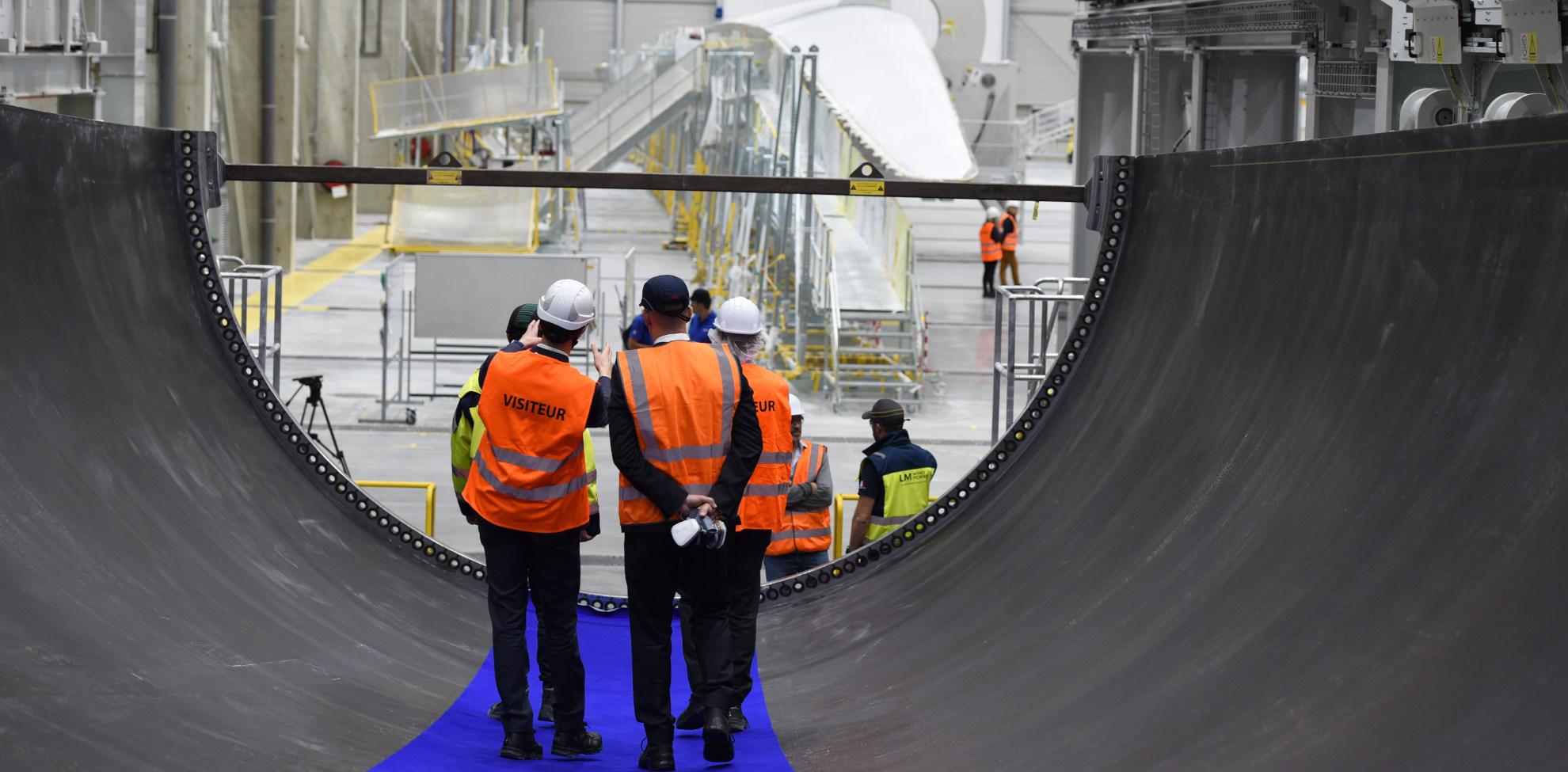 Eoliennes offshores fabriquées à Cherbourg