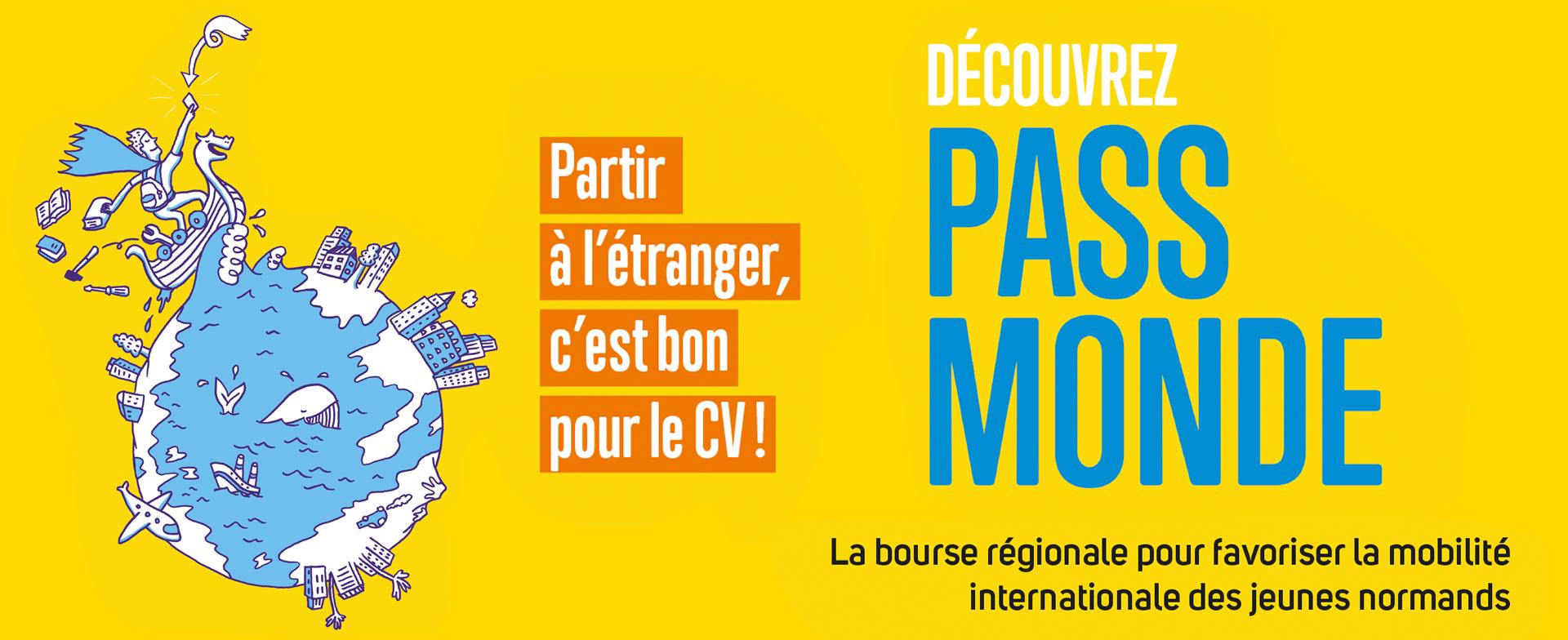 Pass Monde jeunes en Normandie