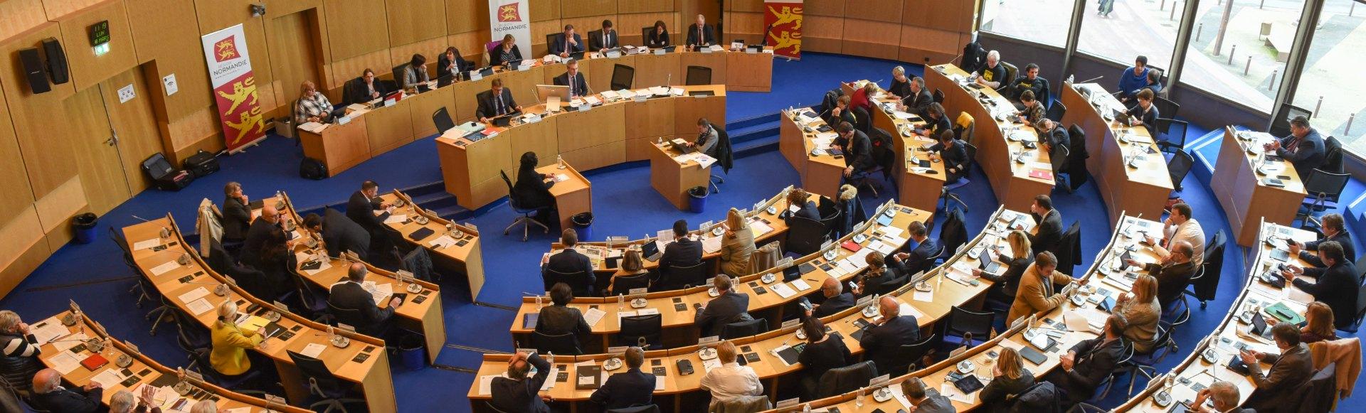 Assemblée plénière à Rouen