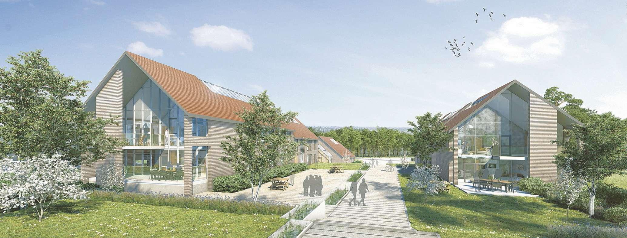 Futur campus équin de Goustrainville