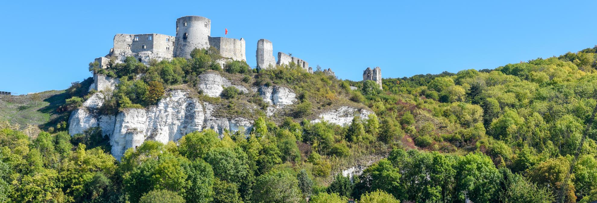 Château Gaillard, vallée de la Seine