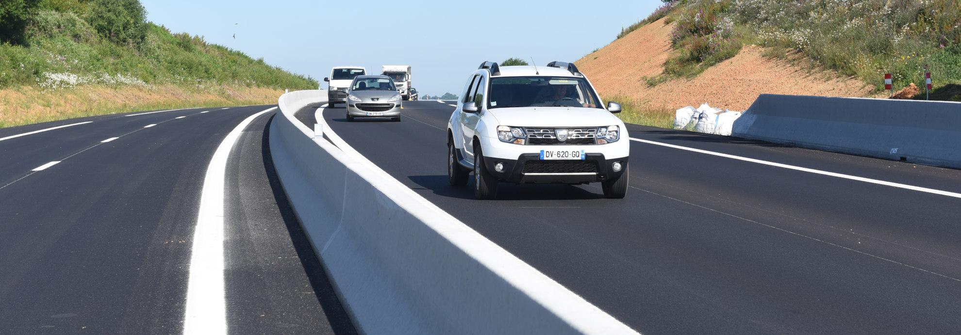 Projets routiers - route départementale