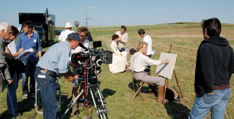 Tournage de film en Normandie