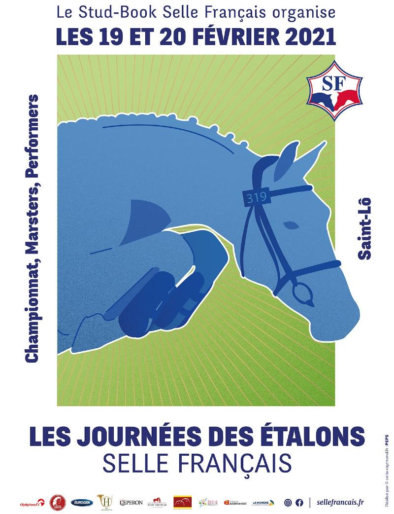 Visuel Les Journées des Étalons Selle Français