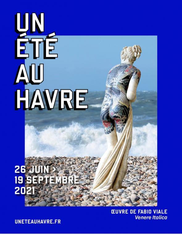 Affiche un été au Havre