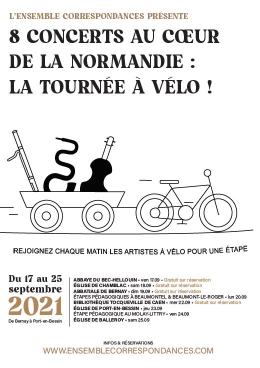 Tournée à vélo