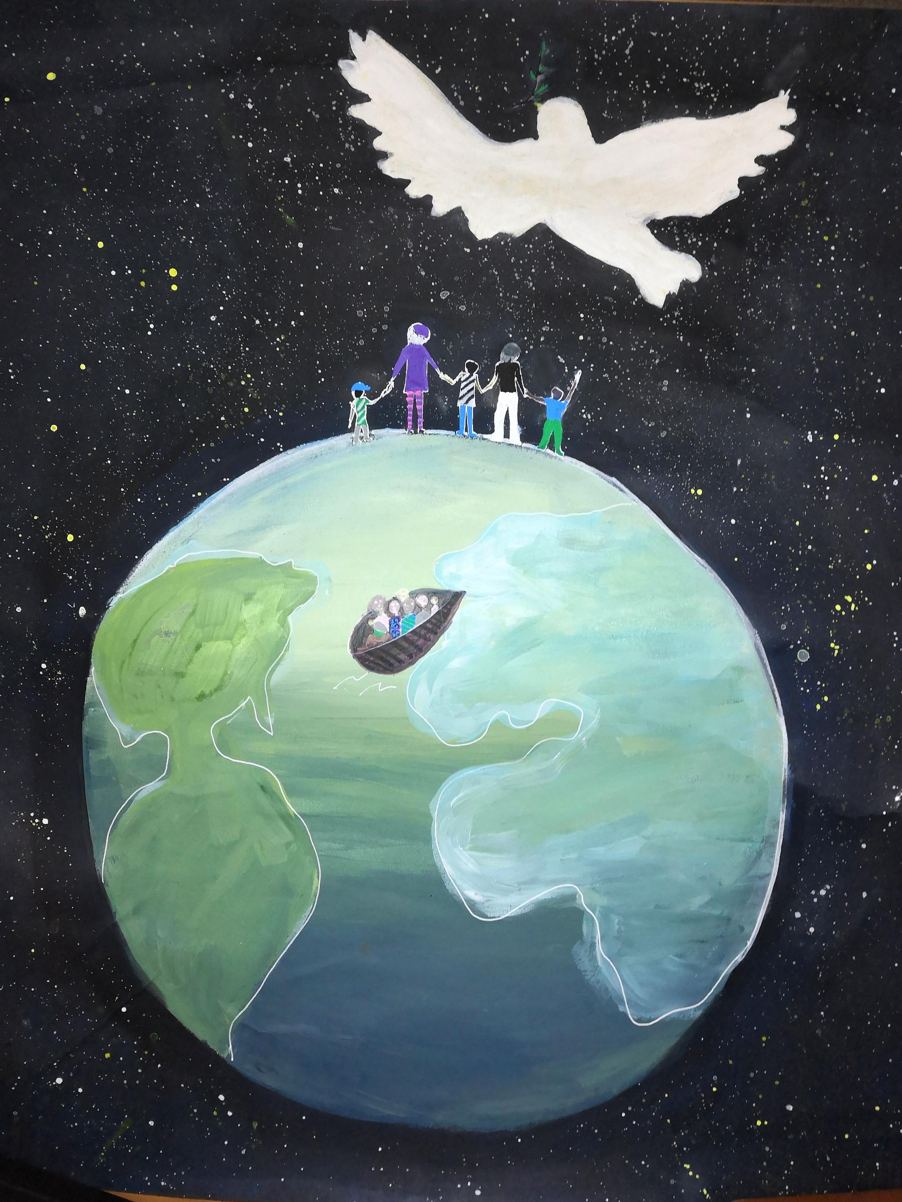 Affiche pour la Paix