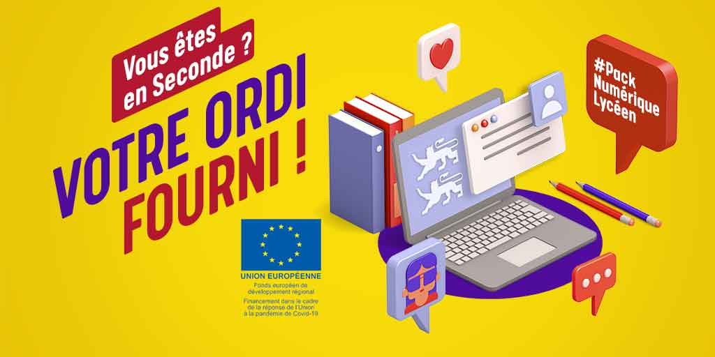 Pack numérique Lycéen Normandie